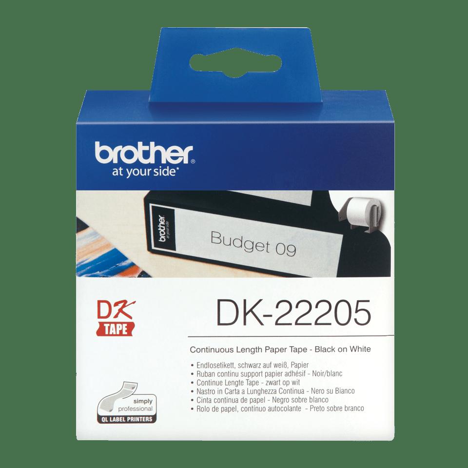 Brother DK-22205 Непрекъсната хартиена лента