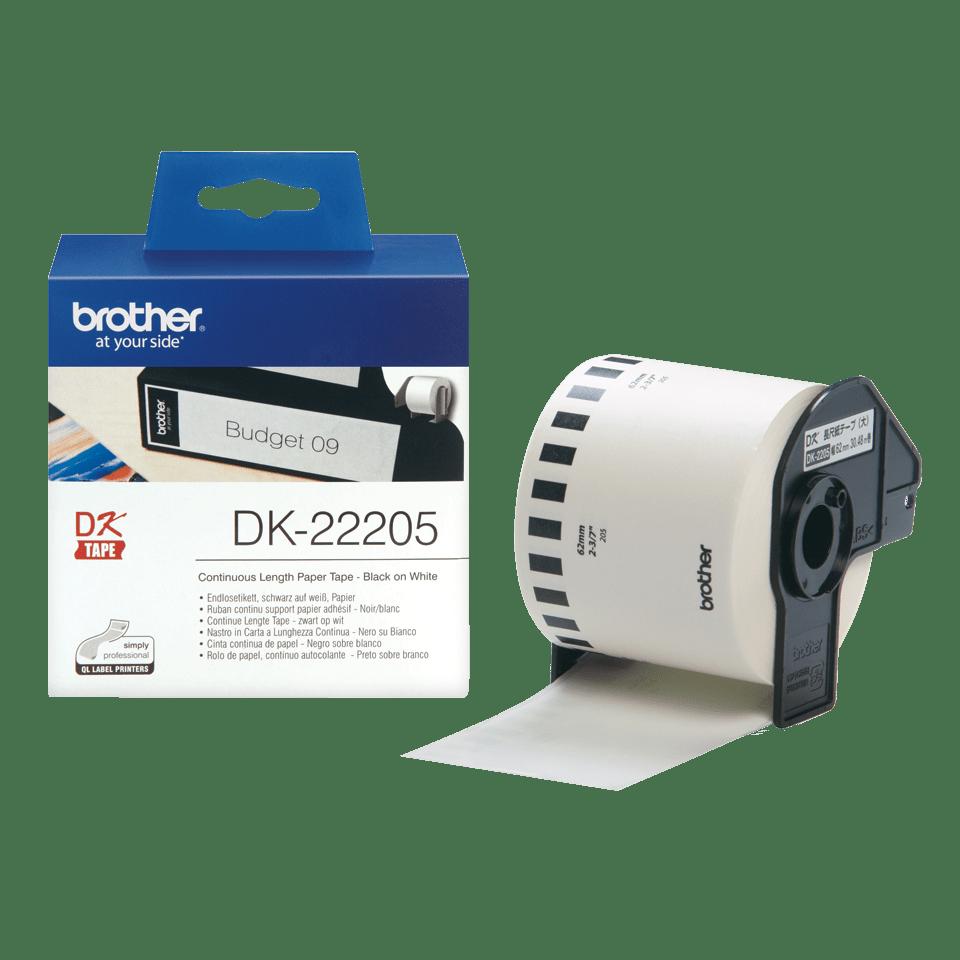 Brother DK-22205 Непрекъсната хартиена лента 3