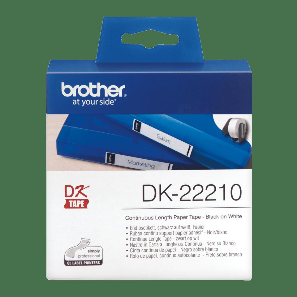 Brother DK-22210 Непрекъсната етикетна лента, 29mm