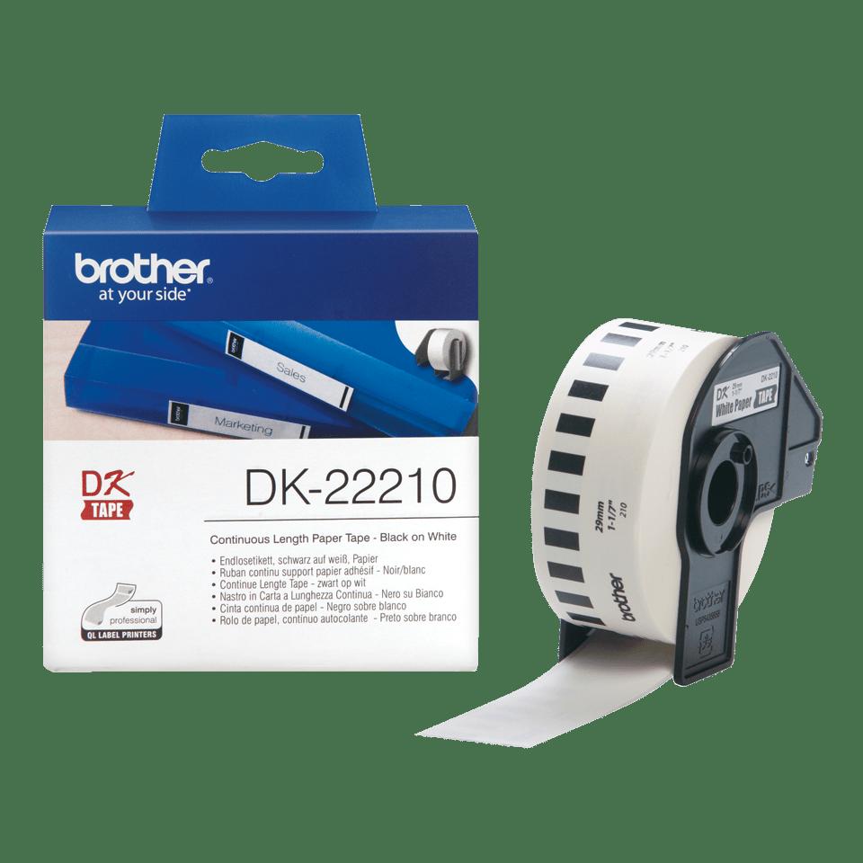 Brother DK-22210 Непрекъсната етикетна лента, 29mm 3