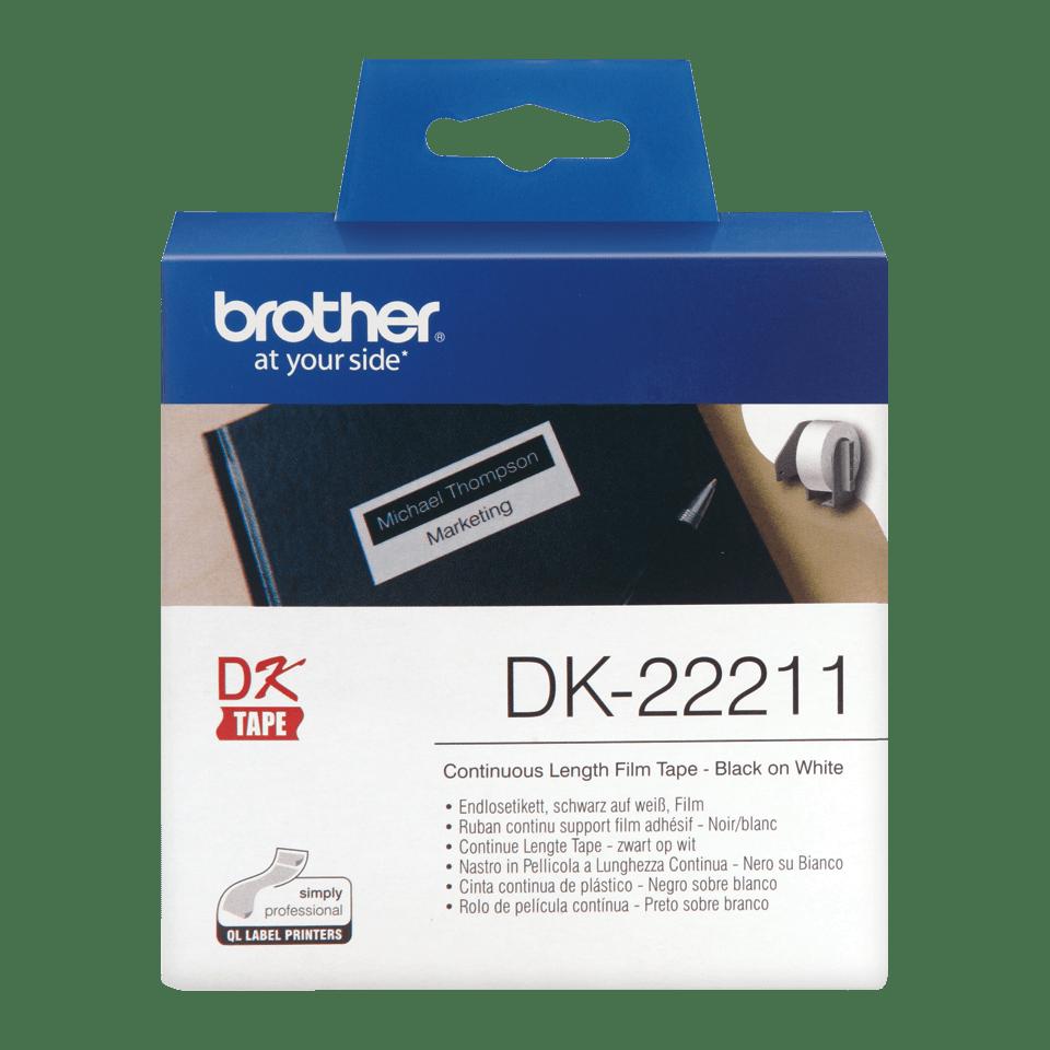 Brother DK-22211 непрекъсната пластична лента.