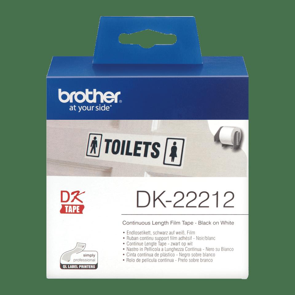 Brother DK-22212 непрекъсната пластична лента