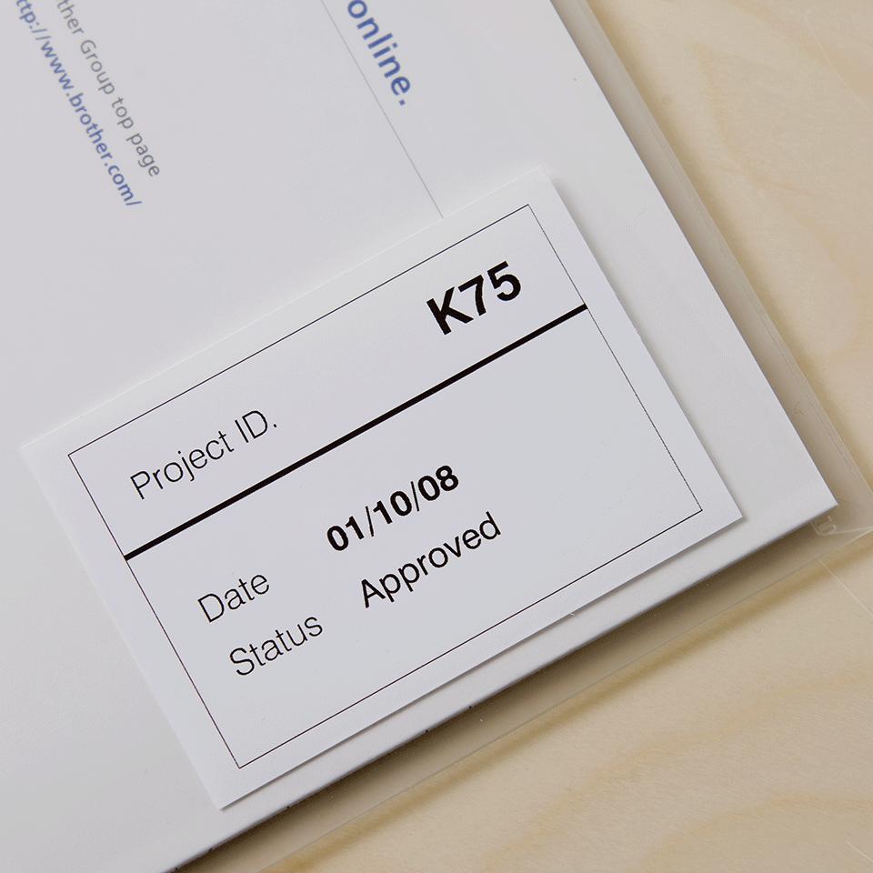 Brother DK-22212 непрекъсната пластична лента 2