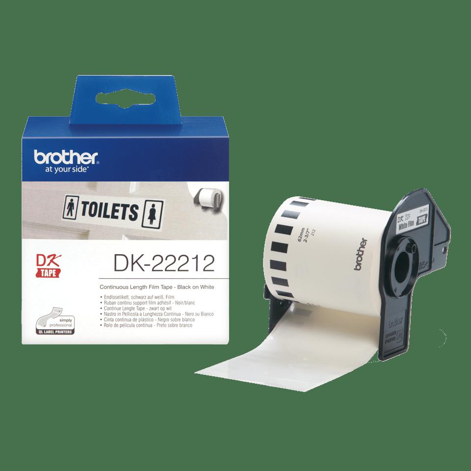 Brother DK-22212 непрекъсната пластична лента 3