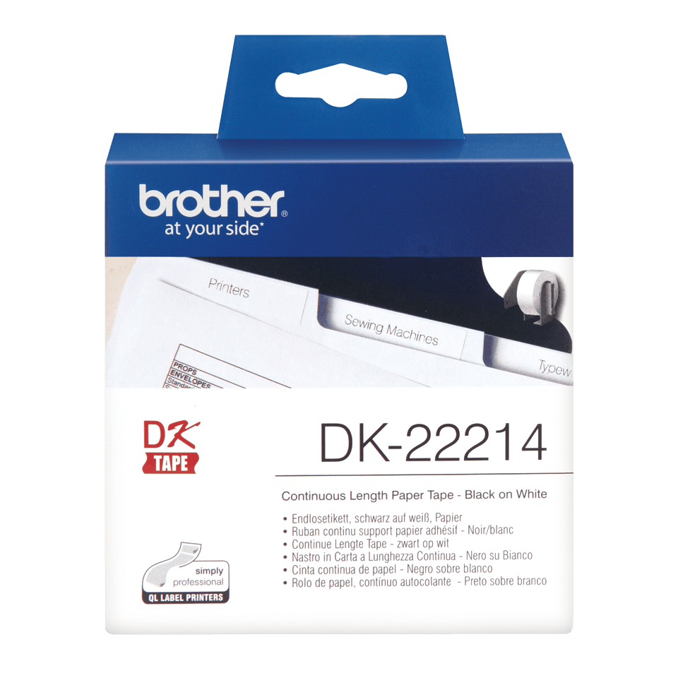 Brother DK-22214 непрекъсната хартиена ролка