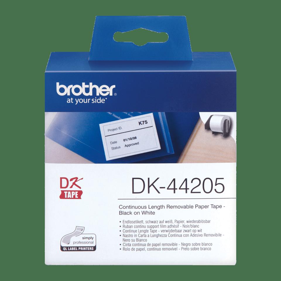Brother DK-44205 лесно отлепваща се лента, 62mm