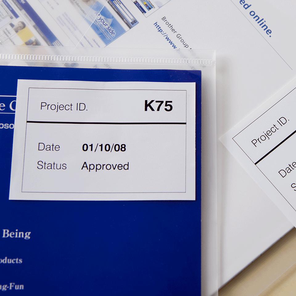 Brother DK-44205 лесно отлепваща се лента, 62mm 2