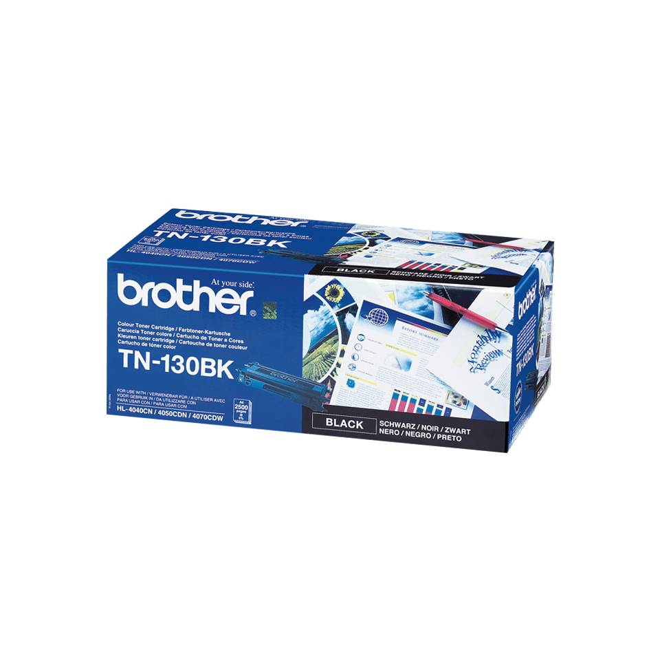 Оригинална тонер касета Brother TN130BK – черен цвят
