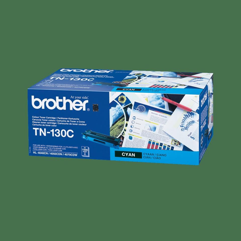 Оригинална тонер касета Brother TN130C – син цвят