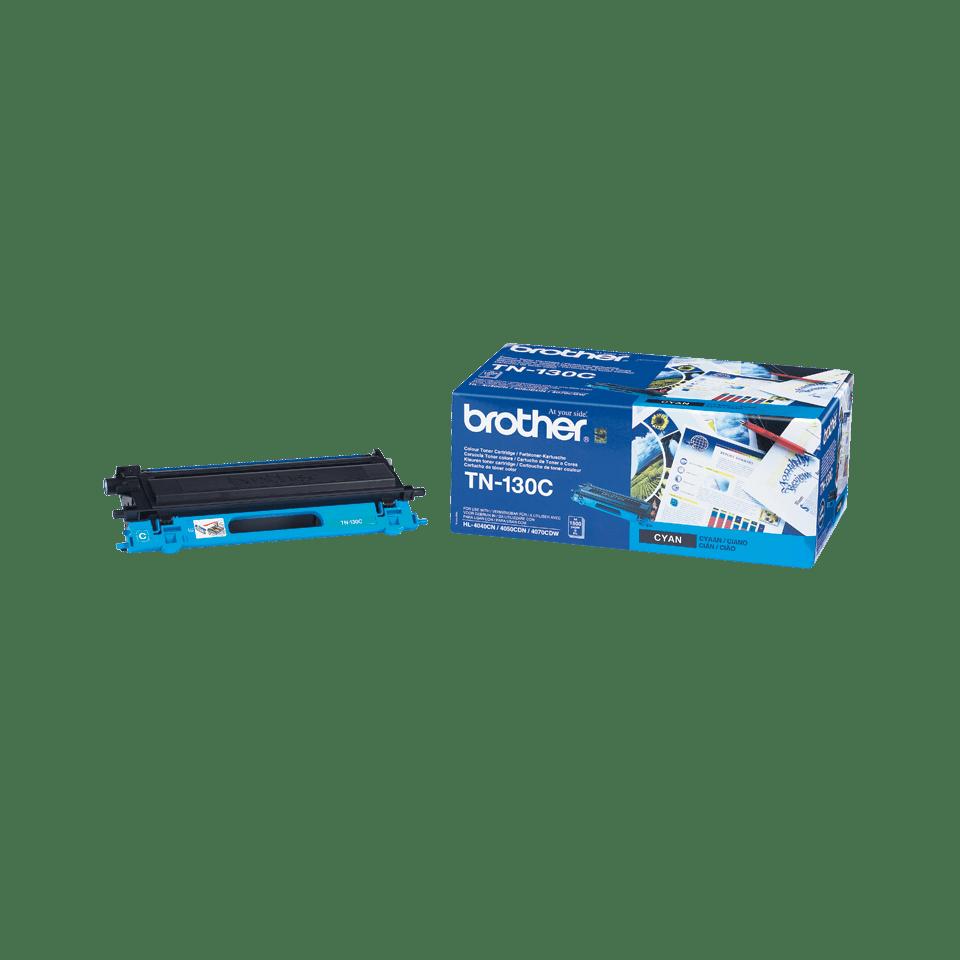 Оригинална тонер касета Brother TN130C – син цвят 2