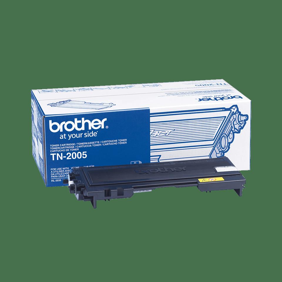 Оригинална тонер касета Brother TN2005– черен цвят
