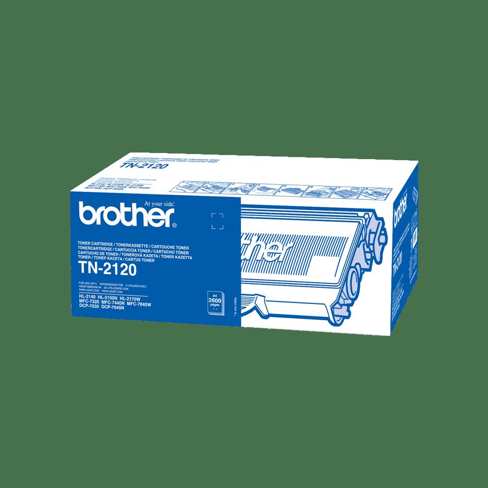 Brother TN-2120 Оригинална тонер касета с голям капацитет