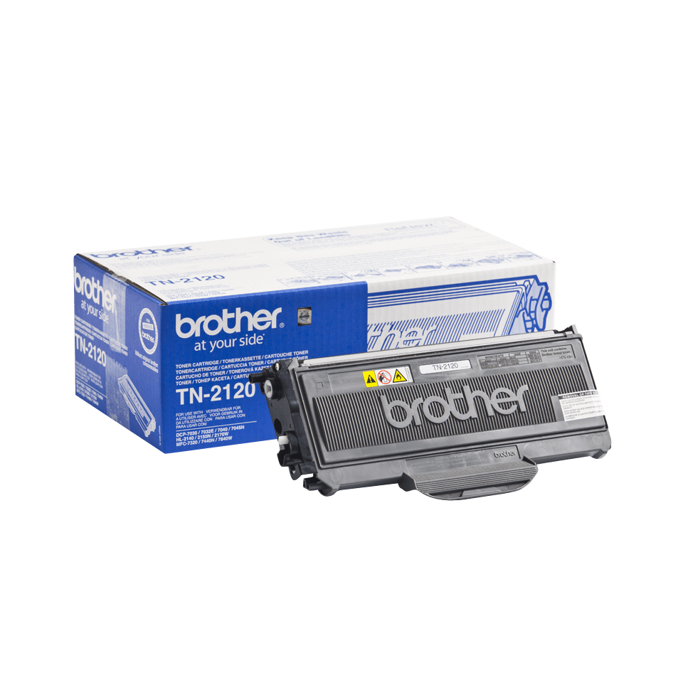 Brother TN-2120 Оригинална тонер касета с голям капацитет 2