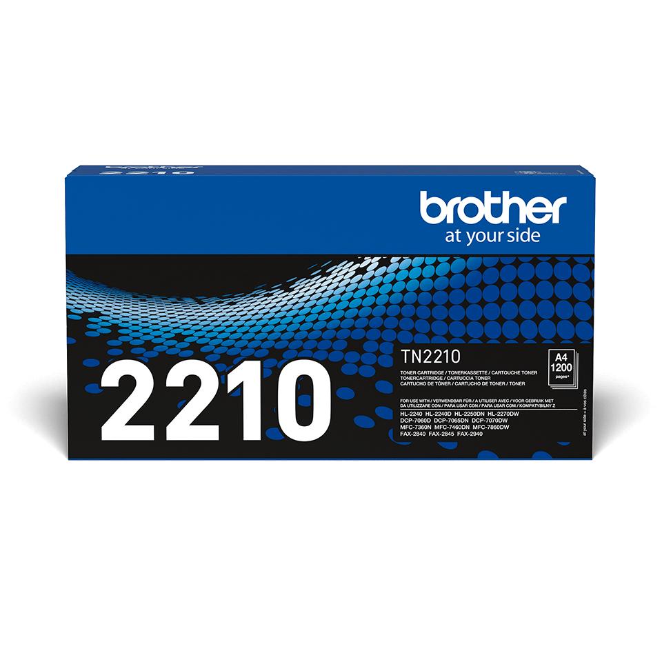 Brother TN-2210 - Оригинална тонер касета 2