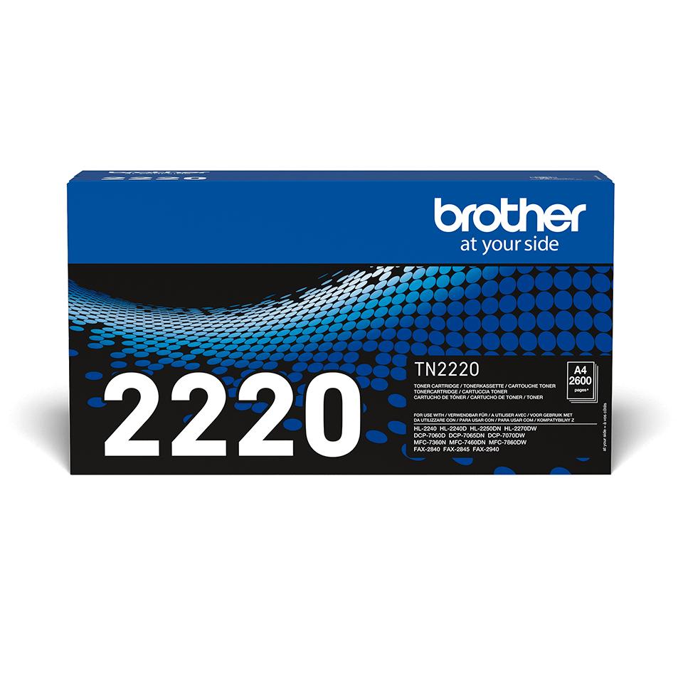 Brother TN-2220 - Тонер касета с голям капацитет