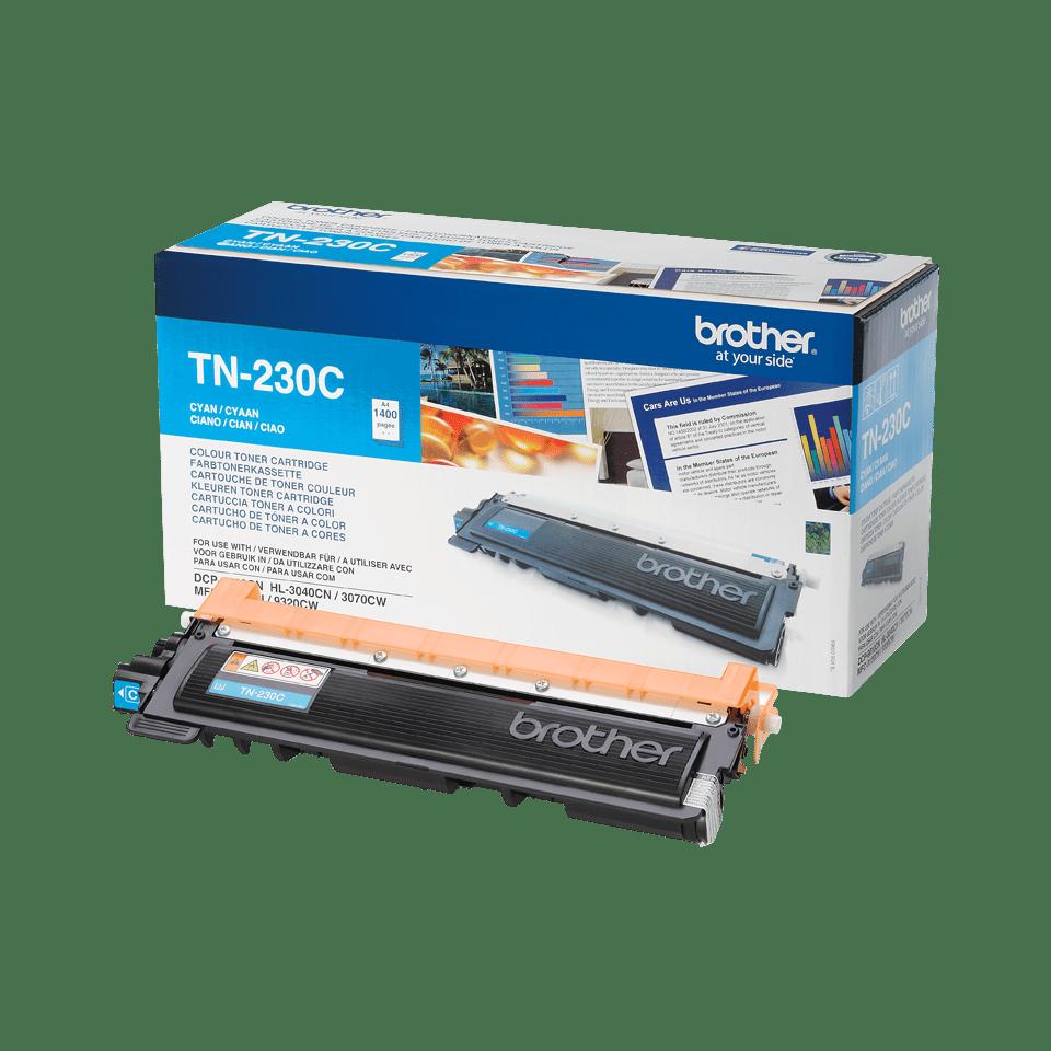 Оригинална тонер касета Brother TN-230C – Синьо
