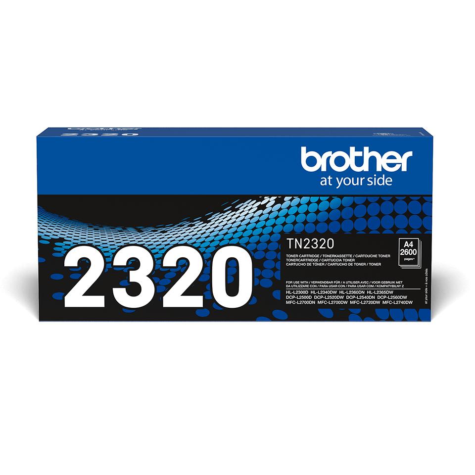 Brother TN-2320 - Тонер касета с голям капацитет