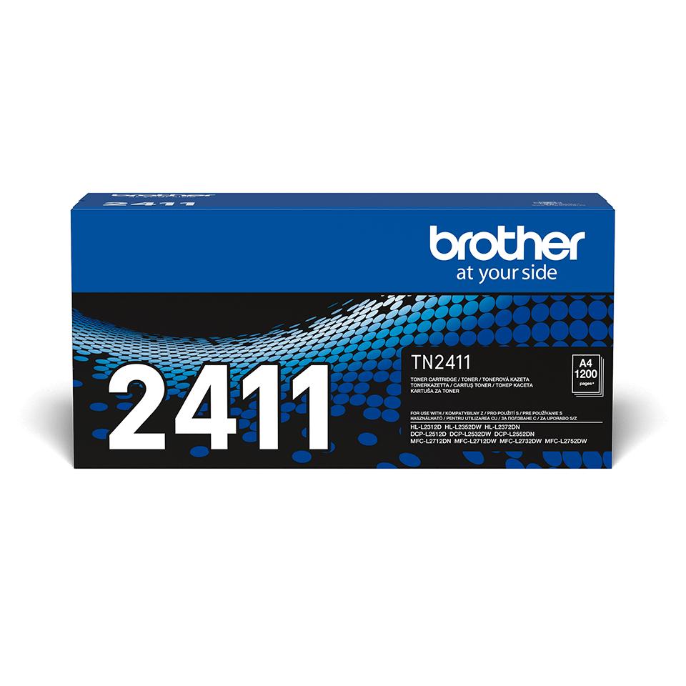 Оригинална черна тонер касета Brother TN-2411