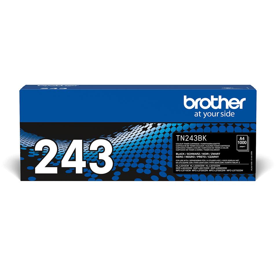 Оригинална тонер касета Brother TN-243BK – черен цвят