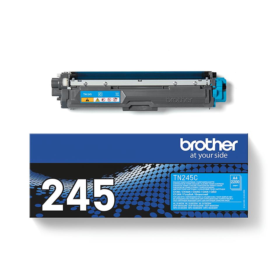 Оригинална тонер касета Brother TN-245C – Синьо 2