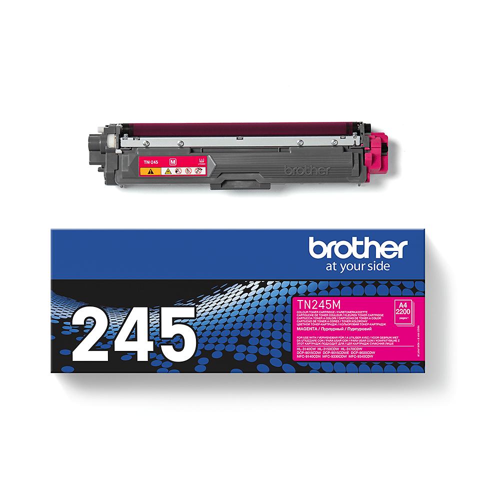 Оригинална тонер касета Brother TN245M – червен цвят 2