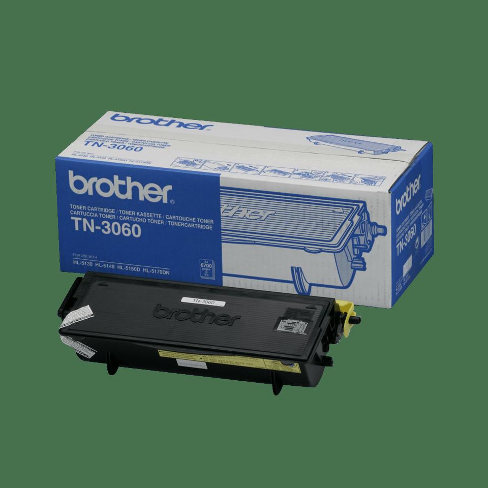 Оригинална тонер касета с голям капацитет Brother TN3060 – черен цвят