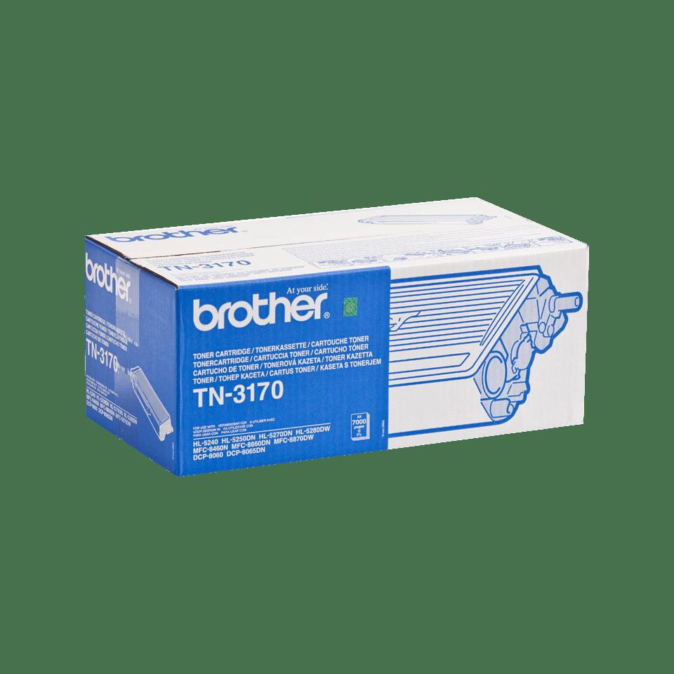 Оригинална тонер касета с голям капацитет Brother TN3170 – черен цвят 2