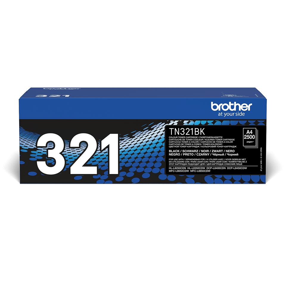 Оригинална тонер касета Brother TN321BK – черен цвят