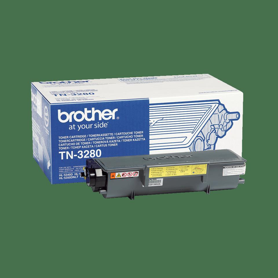 Brother TN-3280 - тонер касета с голям капацитет