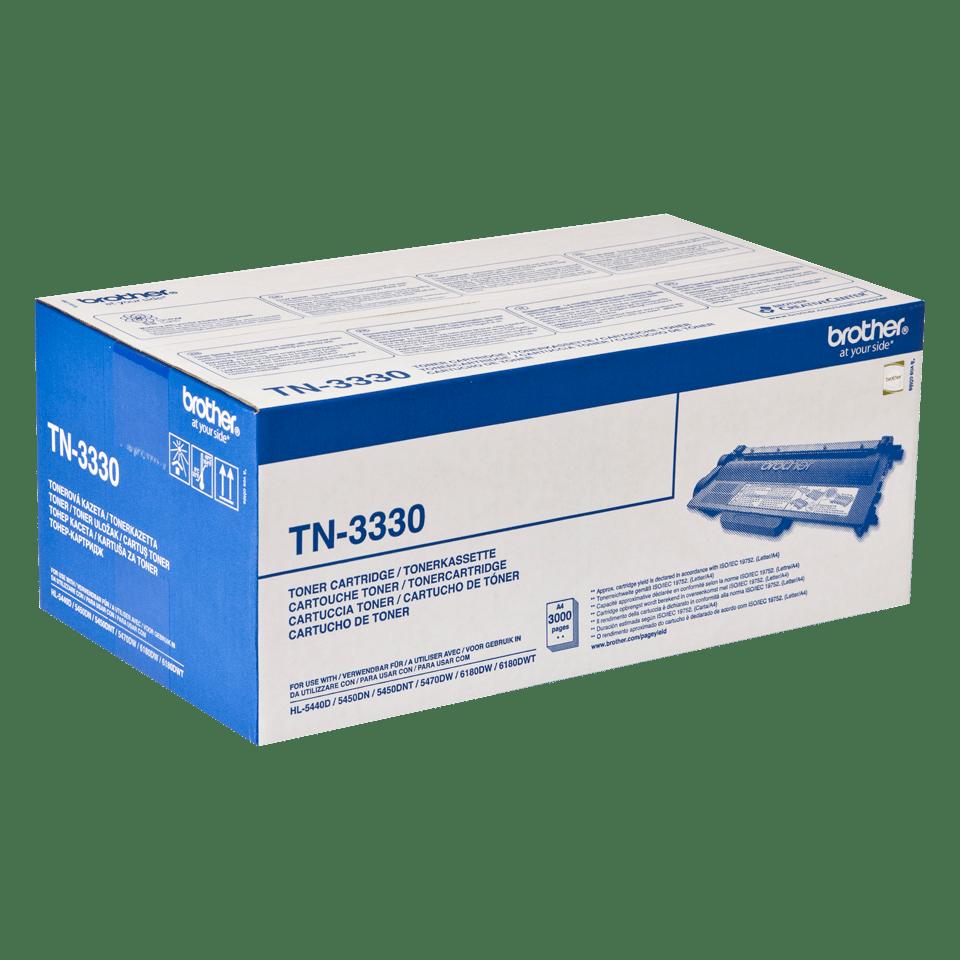 Оригинална тонер касета Brother TN3330 – черен цвят 2