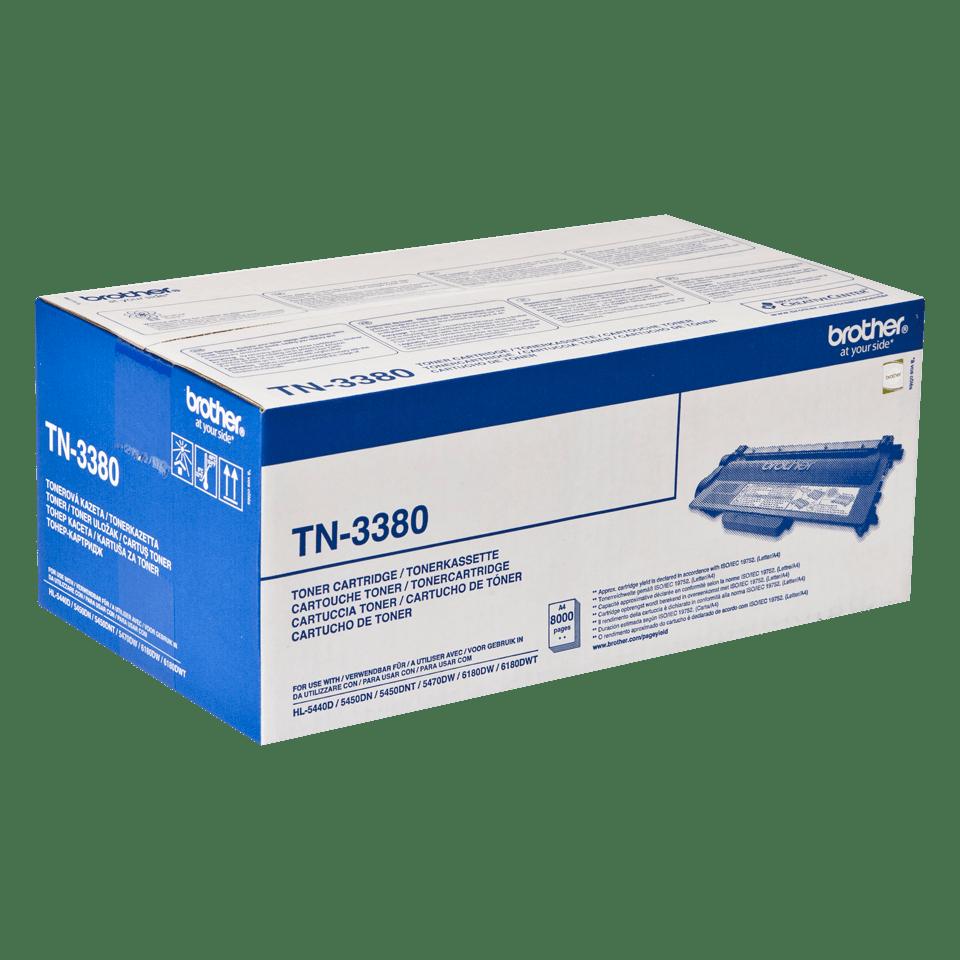 Brother TN-3380 - тонер касета с голям капацитет 2