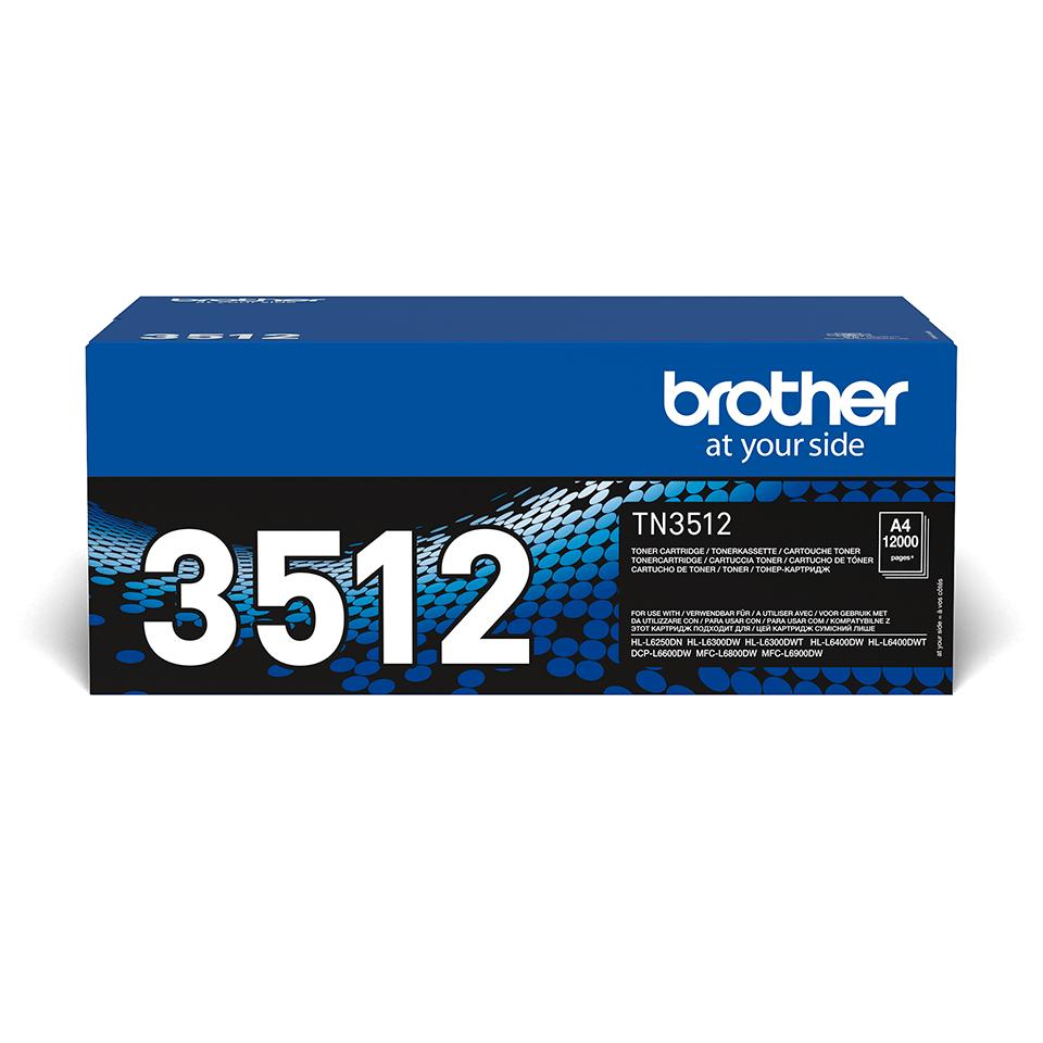 BrotherTN-3512- тонер касета със супер голям капацитет