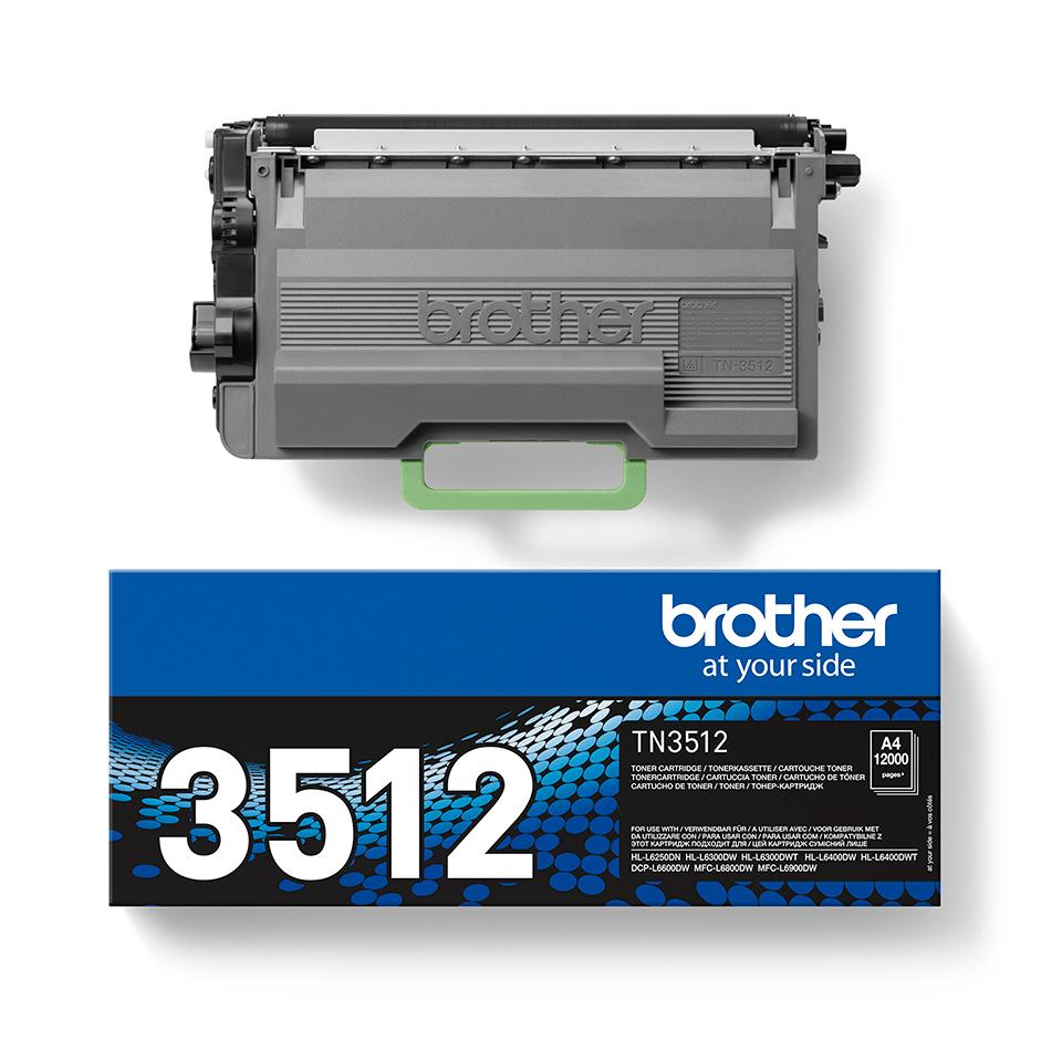 BrotherTN-3512- тонер касета със супер голям капацитет 2