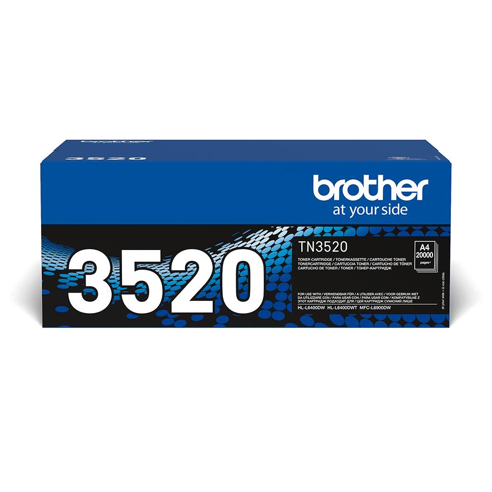 Brother TN-3520 Оригинална тонер касета с ултра голям капацитет