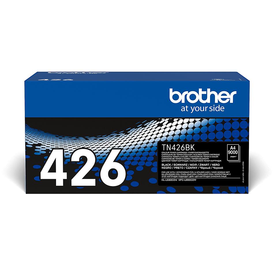 Оригинална тонер касета Brother TN426BK – черен цвят 2