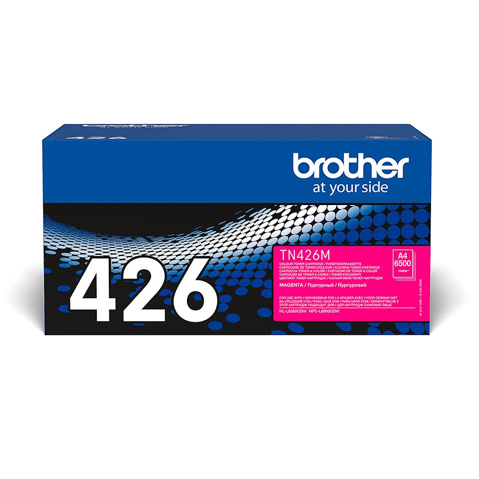 Оригинална тонер касета Brother TN426M – червен цвят