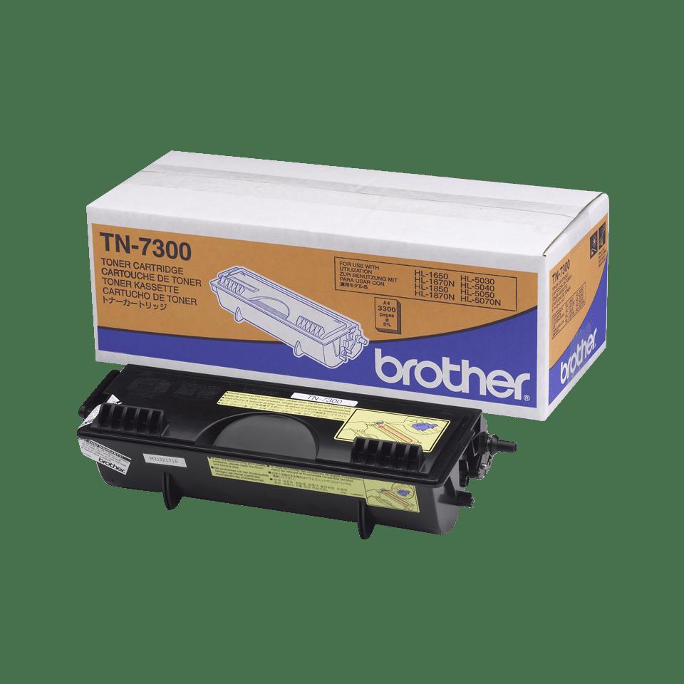 Оригинална тонер касета с голям капацитет Brother TN7300 – черен цвят