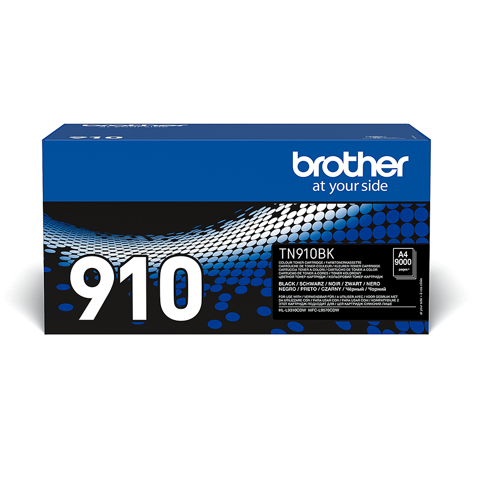 Оригинална тонер касета Brother TN910BK – черен цвят