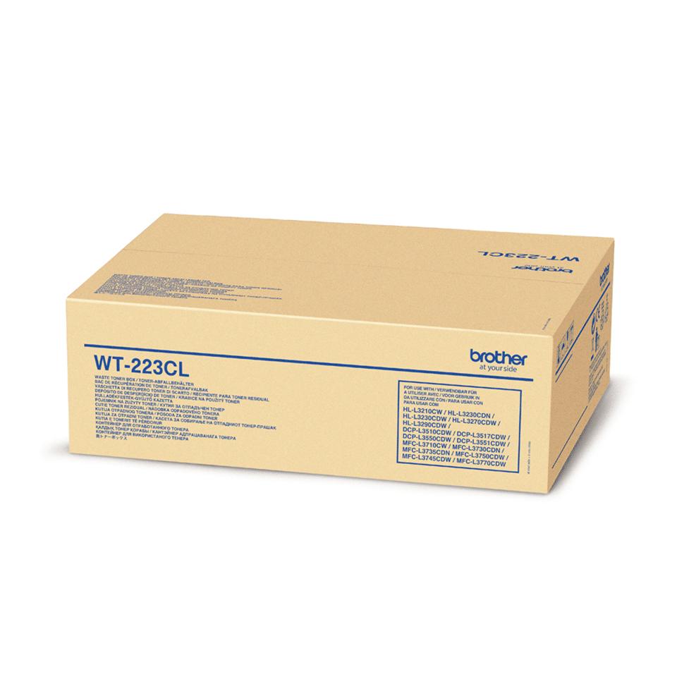 Оригинална кутия за остатъчен тонер Brother WT-223CL