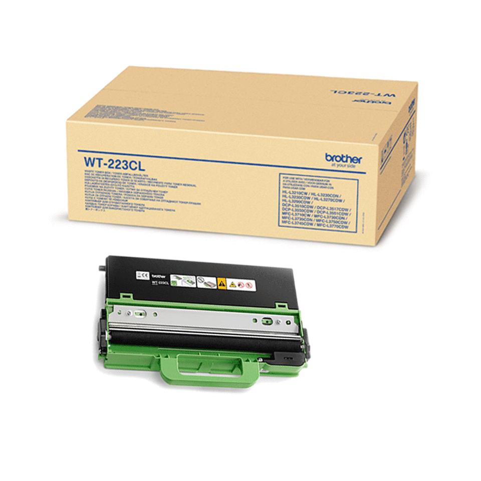 Оригинална кутия за остатъчен тонер Brother WT-223CL 2