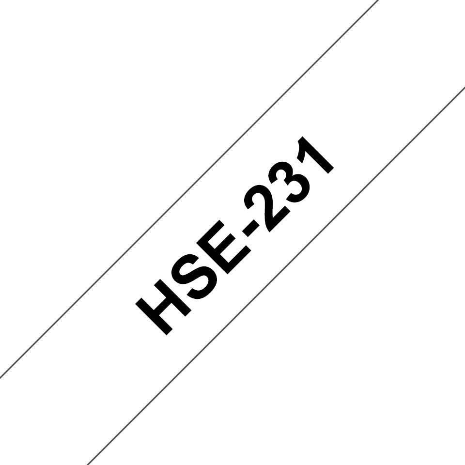 Brother HSe-231 - Термо-шлаух лента, 11,7mm 3
