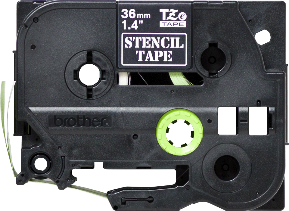 Brother STe-161 - Черна маркираща лента, 36mm