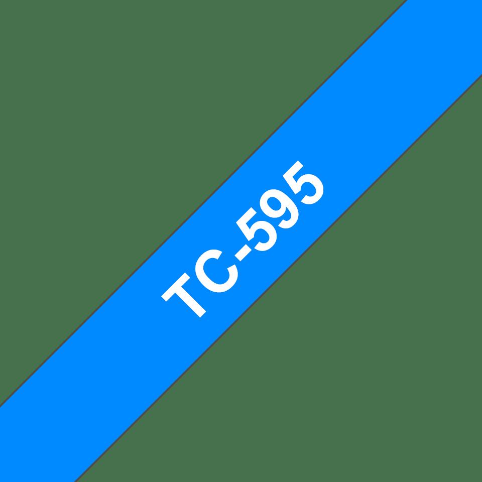 Оригинална касета с лента Brother TC595, ширина 9mm