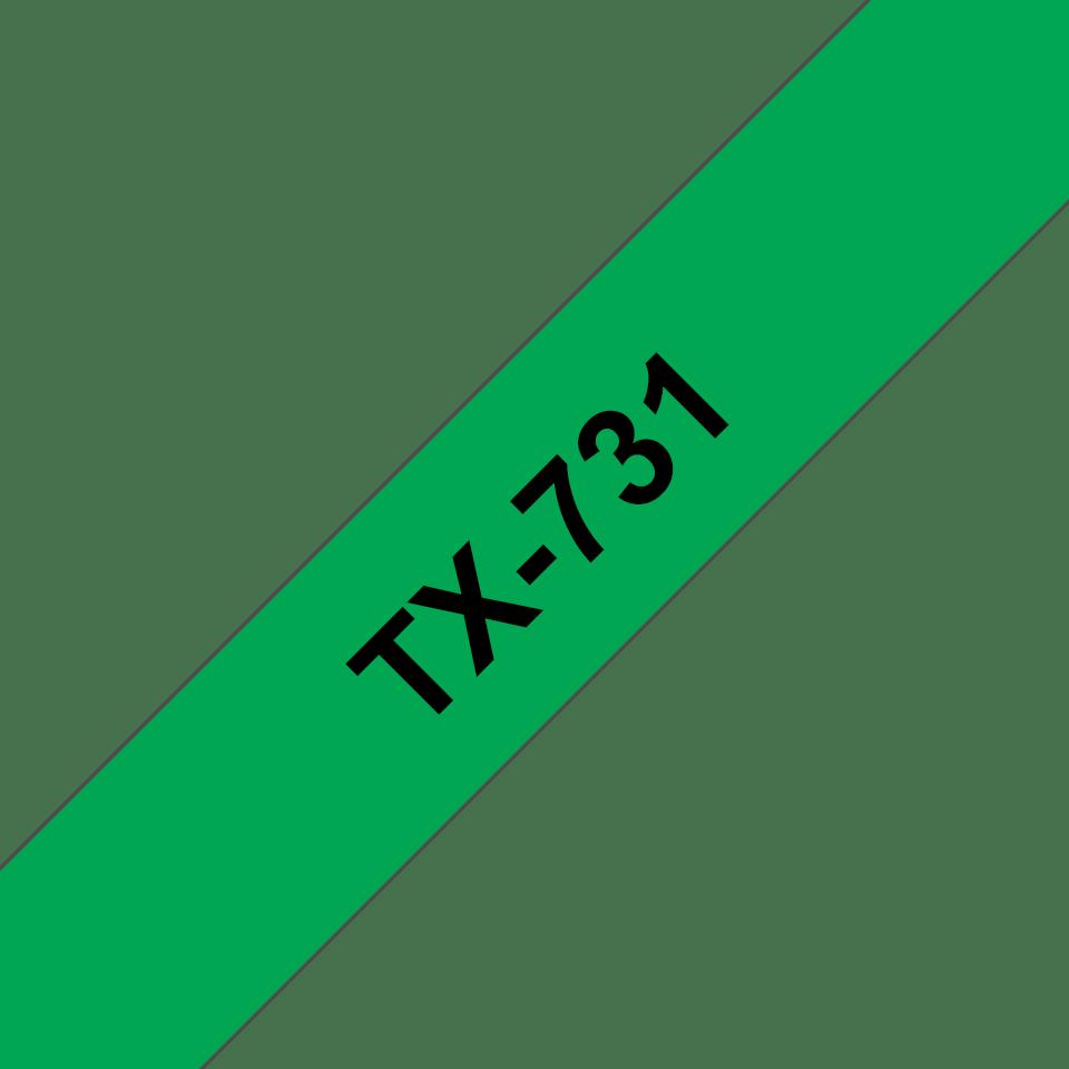 Оригинална касета Brother TX731, ширина 12mm