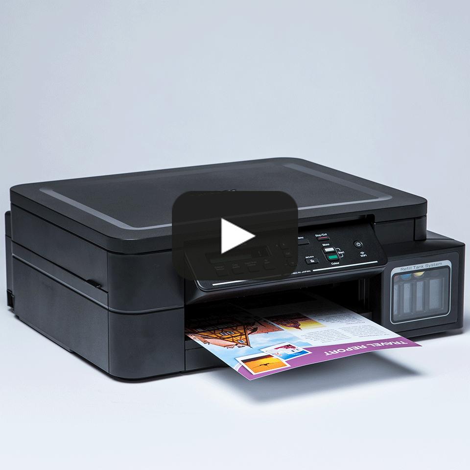DCP-T510W - печат, копиране сканиране, безжична мрежа и ниска цена на печат.  8