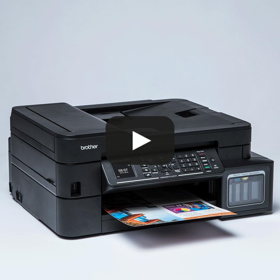Brother MFC-T910DW InkBenefit Plus - мултифункционално устройство с печат, копиране, сканиране и факс 9