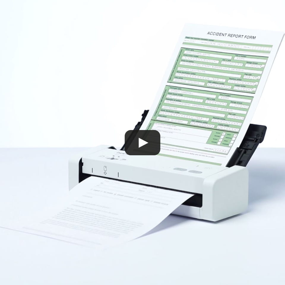 ADS-1200 - преносим, компактен документен скенер. 9